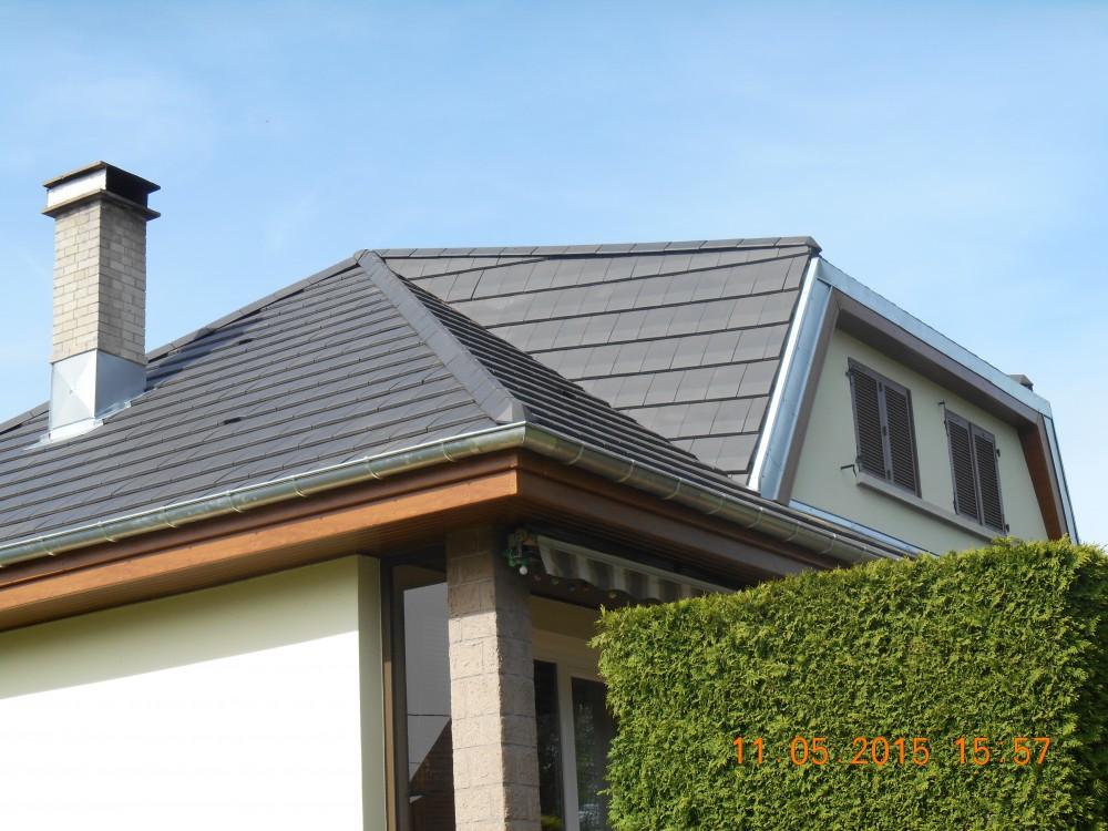 Isolation de toiture terminée Richard William Doubs 25 Besançon Montbéliard Pontarlier Baume-les-dames Rougemont Maîche